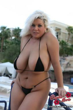 Huge tits in bathing suits