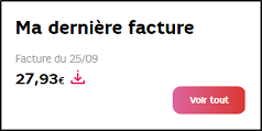 Sfr payer ma facture