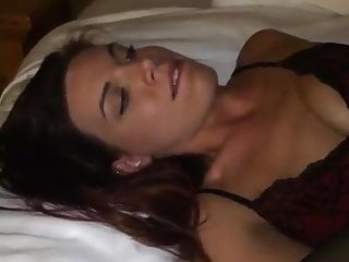 Amateur pretty young woman first bbc