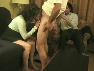 Real amateur mature wife lost bet